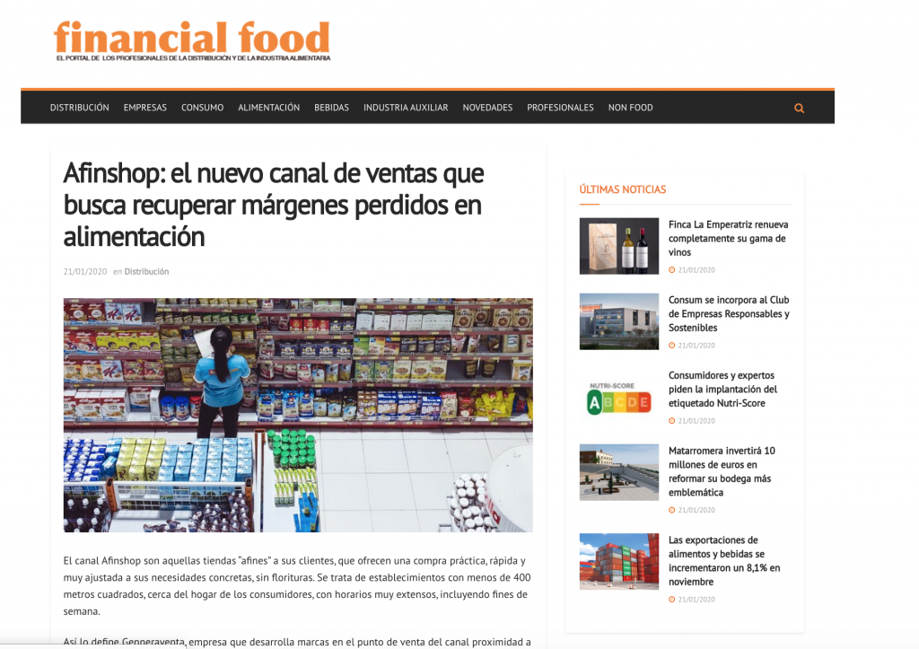 Financial Food Afinshop